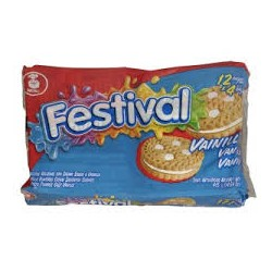 FESTIVAL BISCUIT VANILLE 403G