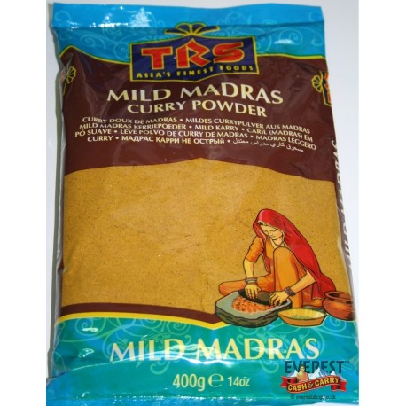 TRS CURRY MADRAS (DOUX) 400G