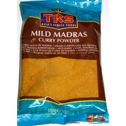 TRS CURRY MADRAS (DOUX) 100G