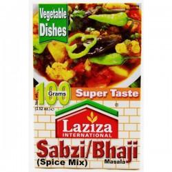 LAZIZA SABZI/BHAJI MASALA 100G